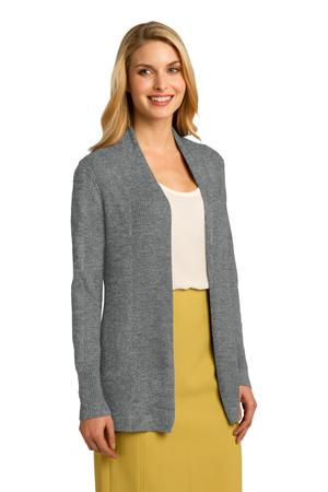 Port Authority® Ladies Open Front Cardigan Sweater – Kunes Apparel